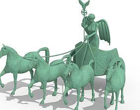 Quadriga Statue from Brandenburg Gate 3D