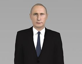 Vladimir Putin ready for full color 3D
