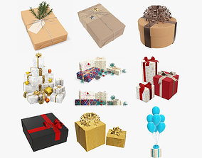 3D model Christmas Collection 08