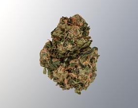 Marijuana Flower 3 3D