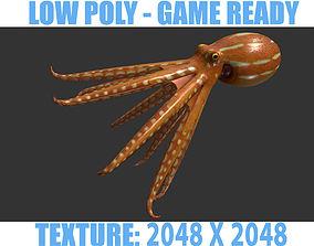 3D model realtime Octopus