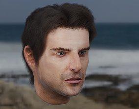 Tom Cruise Head Model 3D