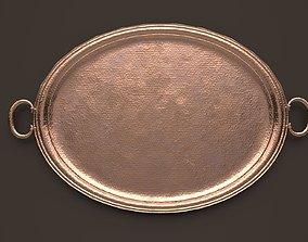 Copper Platter - PBR 3D asset