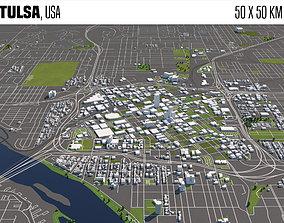Tulsa usa 3D
