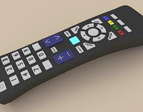 3D model TV REMOTE CONTROL