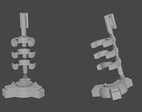 3D print model Loki Scepter Base Infinity mind stone End