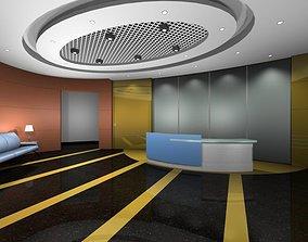 3D vator Luxury architectural Hall Lobby