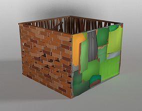 3D asset Wall Package
