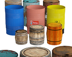 Barrel Collection 3D