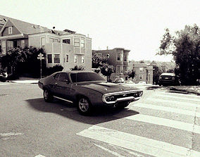 coupe 3D Plymouth Road Runner 1971
