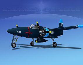 Grumman F7F Tigercat V05 3D