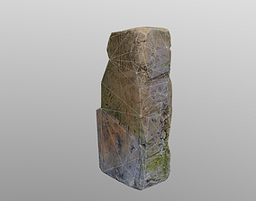 3D asset Low Poly Brick