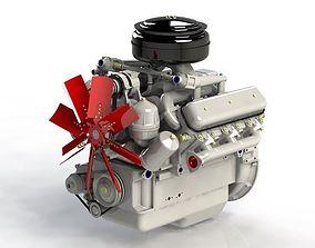3D print model Engine YAMZ236