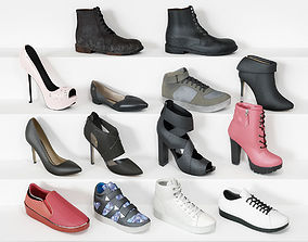 Shoe collection 3D