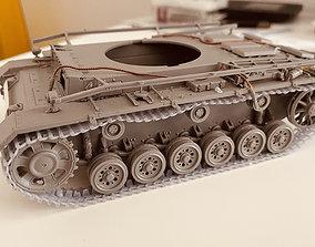 3D print model Panzer III IV track link type 3b