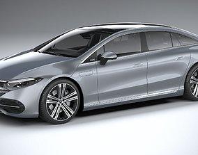 Mercedes-Benz EQS 2021 3D