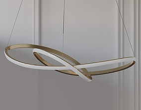3D model Ribbon LED Ceiling Pendant by Heals