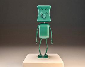 3D model Toon Tobot