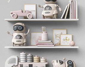 3D model Toys and furniture set 61