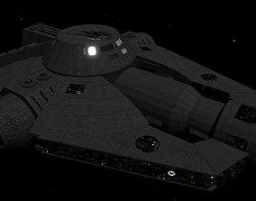 STAR WARS - YT2000 LIGHT FREIGHTER 3D asset game-ready