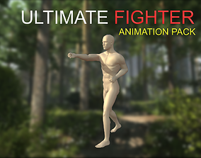 3D model Ultimate Fighter Animation Starter Pack