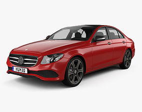Mercedes-Benz E-Class W213 Avantgarde Line 2016 3D