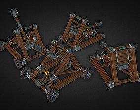 3D asset Catapult Kit