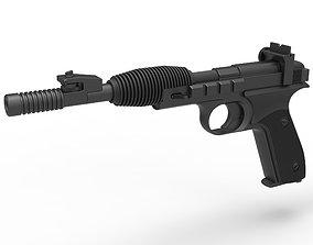 Blaster pistol X-30 from Star Wars Return of the Jedi 3D