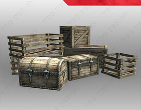 3D asset Chests and Crates
