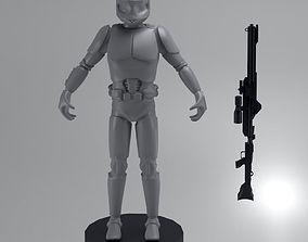 clone trooper 3D print model