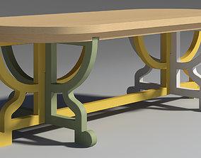 3D model Paper Table Patchwork