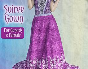 3D Dforce Soiree gown