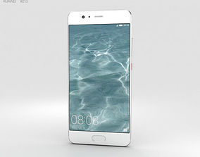 touch Huawei P10 Mystic Silver 3D model