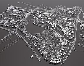 CityscapeDubai Investment Park Dubai United Arab 3D