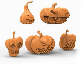 printable Pumpkin 3D print