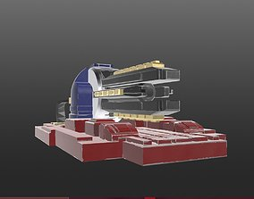 Railgun Gauss cannon 3D print model