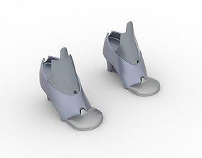 3D print model Female Robotics Shoes