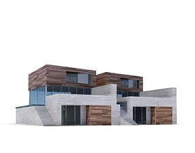 3D model Modern Brick Housing