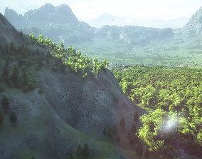 3D model Dinosaur Habitat