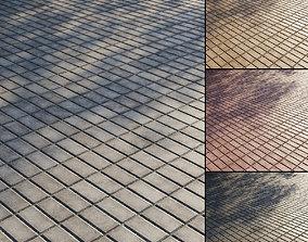 3D Concrete paving slabs Type 3