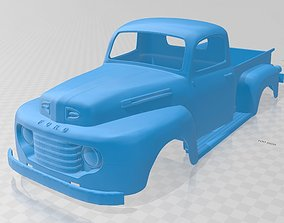 rc Pick Up 1950 Printable Body Truck