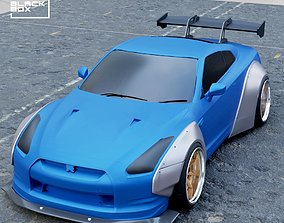 modelkit Widebody Set for GTR R35 Diecast models and RC