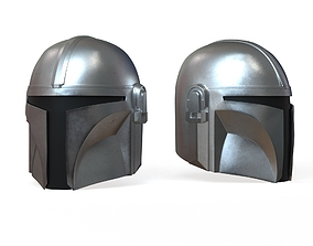 safety Mandalorian Helmet 3D