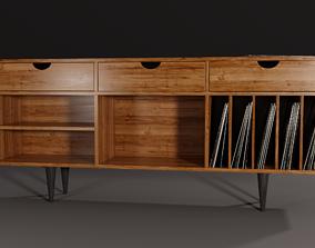 3D model Vintage Furniture with Vinlys PBR