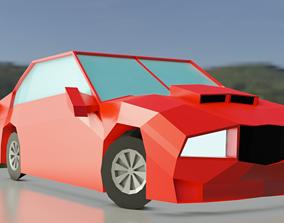Low Poly Car Model CHEAP