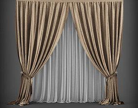 Curtain 3D model 3