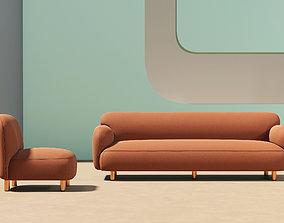 Modern Living Room 304 room 3D