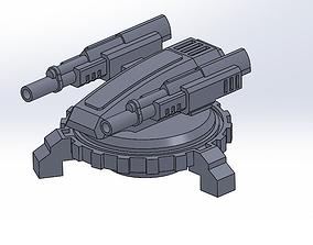 3D printable model LASER DEFENSE AUTOSYSTEM