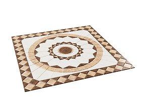 Tile Kitchen Flooring 3D model