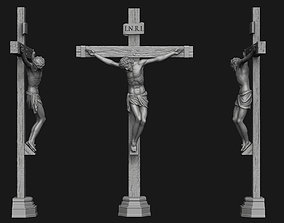JESUS ON THE CROSS no 2 3D printable model